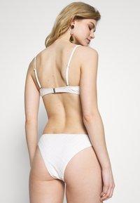 YAS - YASIVORY STRUCTURE BRAZIL - Bikini bottoms - white - 2