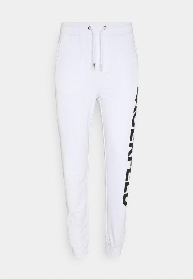 PANTS - Trainingsbroek - white
