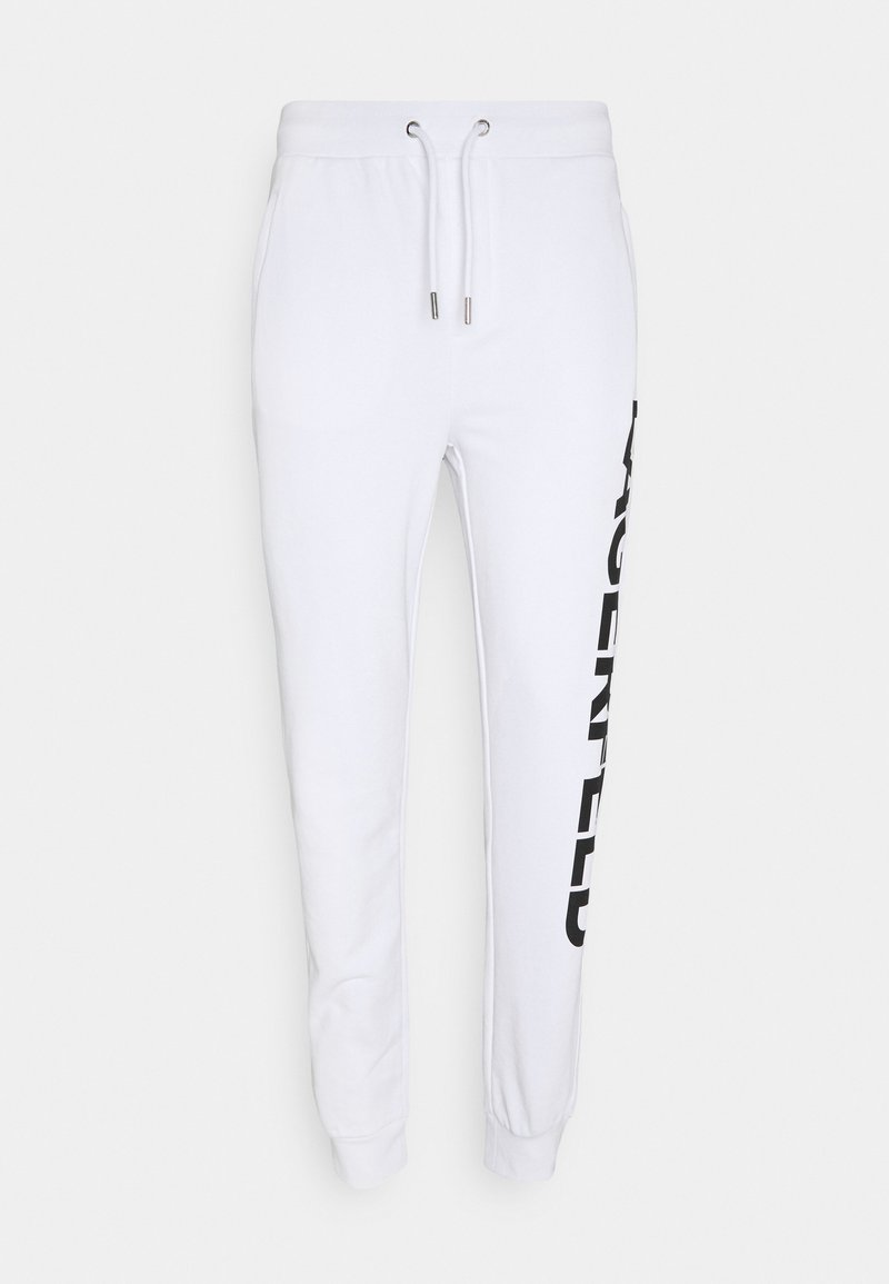 KARL LAGERFELD - PANTS - Tracksuit bottoms - white