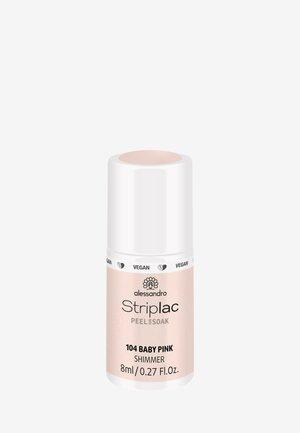 STRIPLAC PEEL OR SOAK 8ML UV-LAMP - VEGAN - Nail polish - baby pink