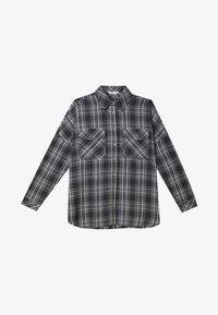 Stradivarius - Button-down blouse - grey - 4