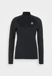 ODLO - MIDLAYER CERAMIWARM ELEMENT - Camiseta de deporte - black - 4