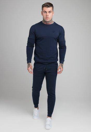 INFINITY CREW NECK - Sweatshirt - navy