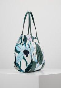 Tory Burch - ELLA PRINTED MINI TOTE - Handväska - desert bloom pigment - 3