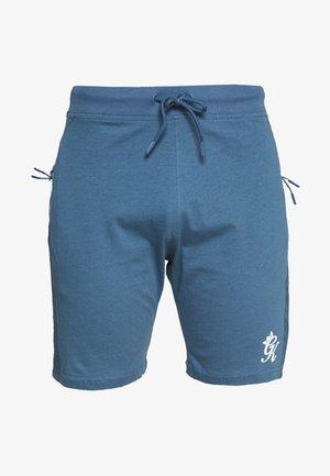 SHORTS WITH PANEL OVERLAY - Pantalones deportivos - bearing sea