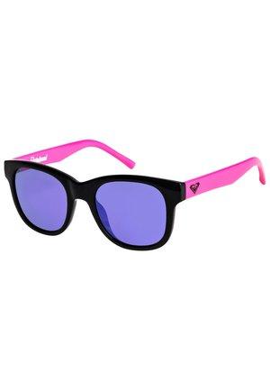 ROXY™ MALANAI - SONNENBRILLE FÜR MÄDCHEN 8-16 ERGEY03007 - Sunglasses - shiny black/ml purple