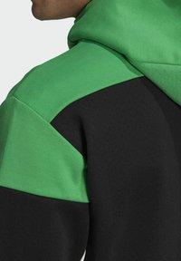 adidas Performance - Z.N.E HOODIE PRIMEGREEN HOODED TRACK TOP - Zip-up hoodie - black - 5