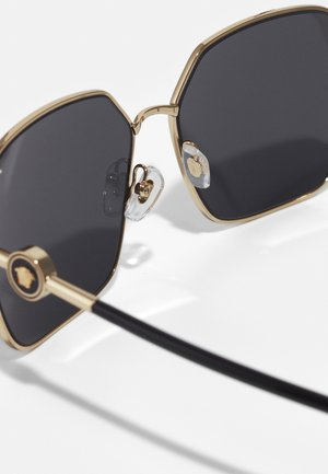 Sunglasses - matte gold-coloured