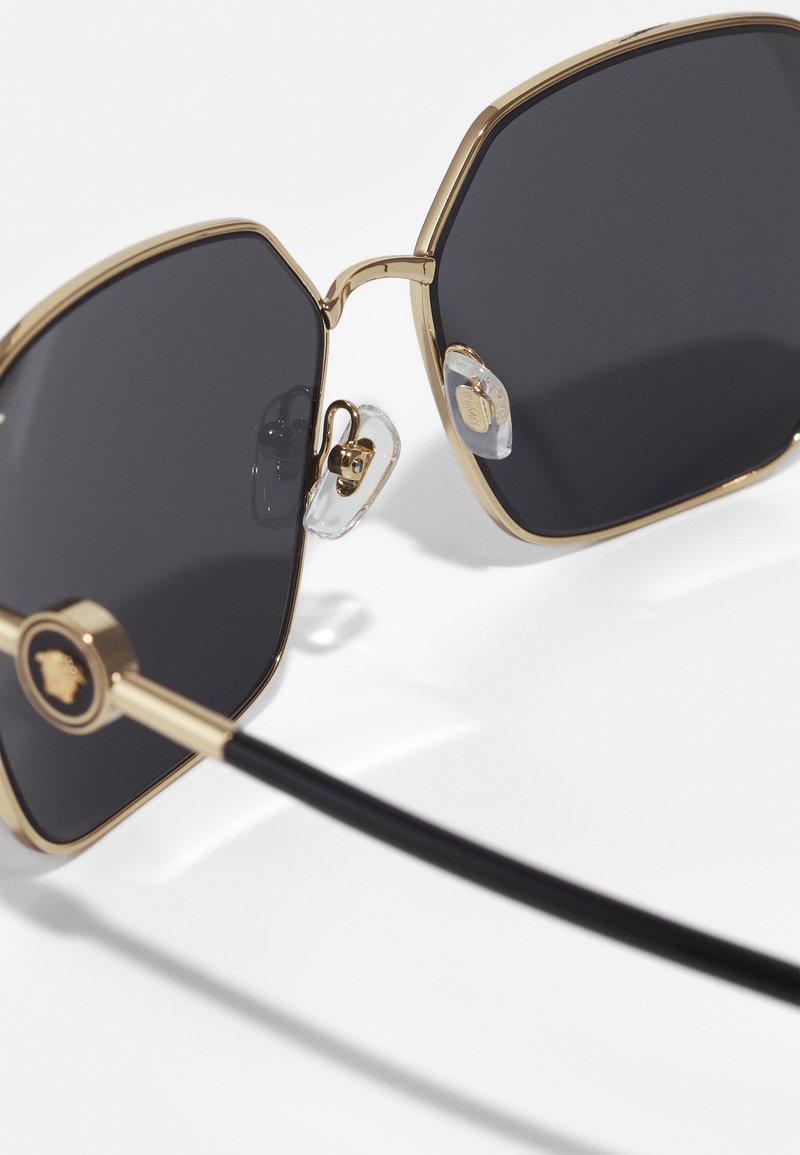 Versace - Sunglasses - matte gold-coloured