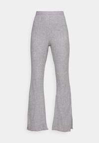 LOUNGE FLARE PANT - Tracksuit bottoms - gray