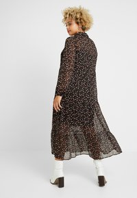 New Look Curves - PRINT MIDI - Maxikjoler - black - 3