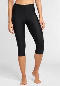 LASCANA - SHAPING CAPRI - Leggings - Stockings - black - 0