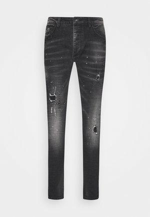 GINI CAROT FIT - Jeans Skinny Fit - grey/black
