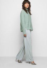 By Malene Birger - MIELA - Trousers - silver - 3