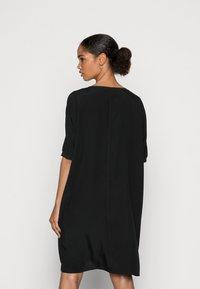 Marc O'Polo - DRESS SHORT LENGTH - Day dress - dusty black - 2