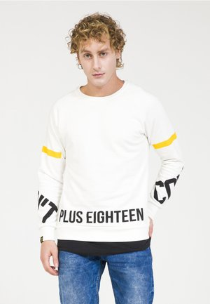Sweatshirt - off-white