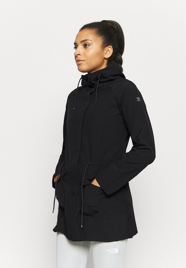 MIRJA - Soft shell jacket - black
