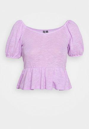 PCTENZIN - Basic T-shirt - sheer lilac