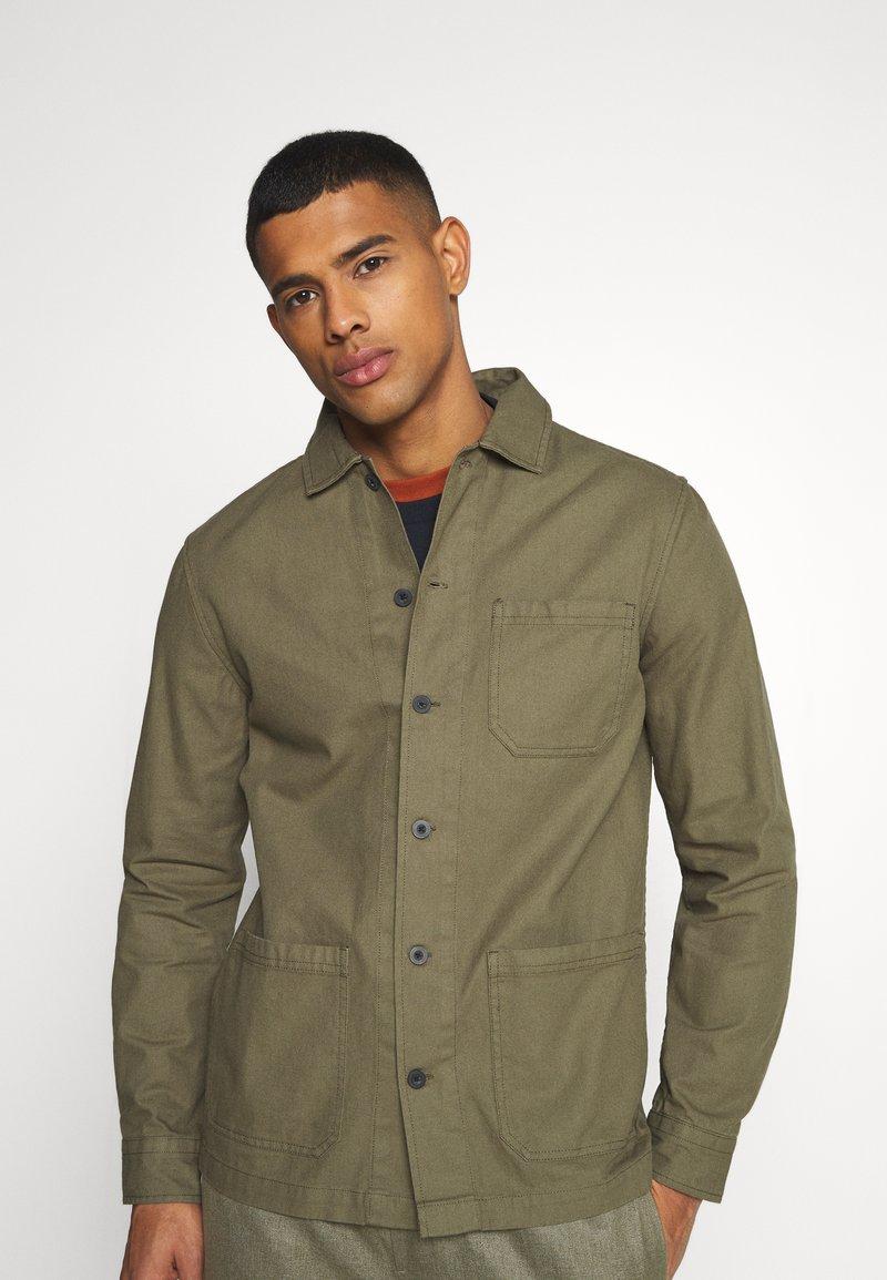 Burton Menswear London - LONG SLEEVE POCKET - Shirt - khaki
