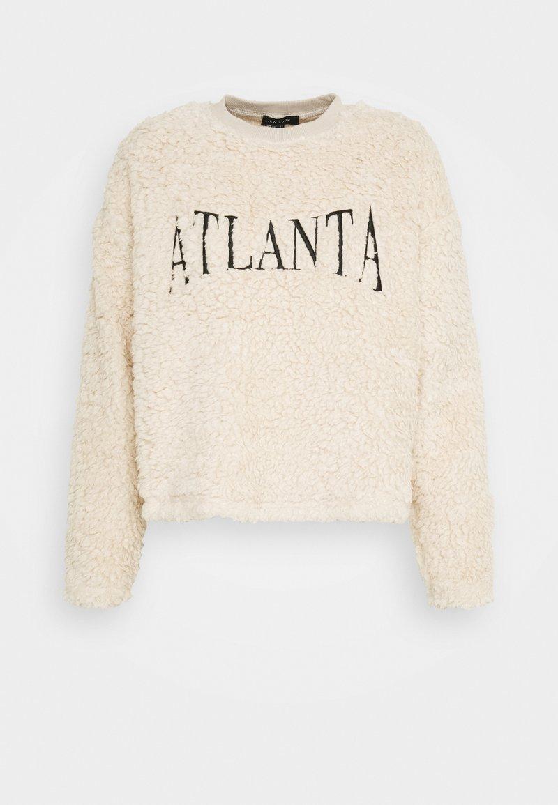 New Look - TEDDY ATLANTA  - Sweatshirt - camel