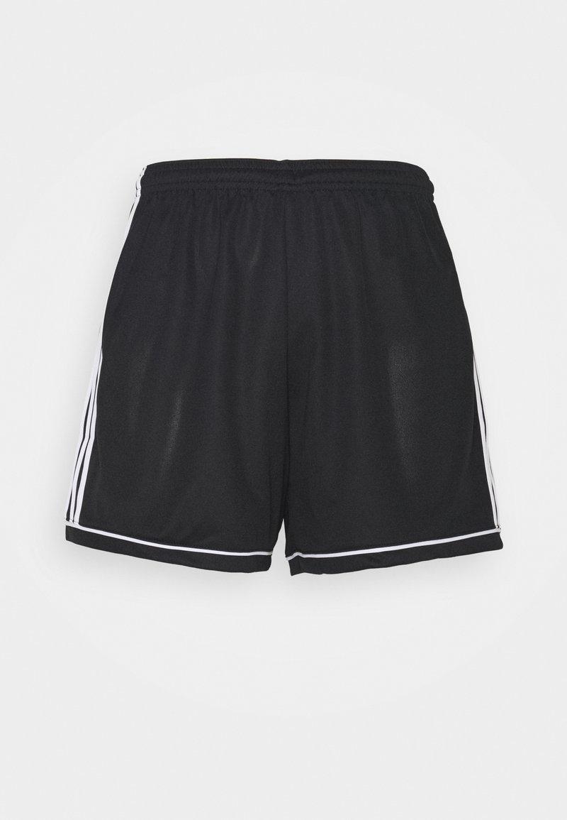 adidas Performance - SQUAD - Korte sportsbukser - black/white