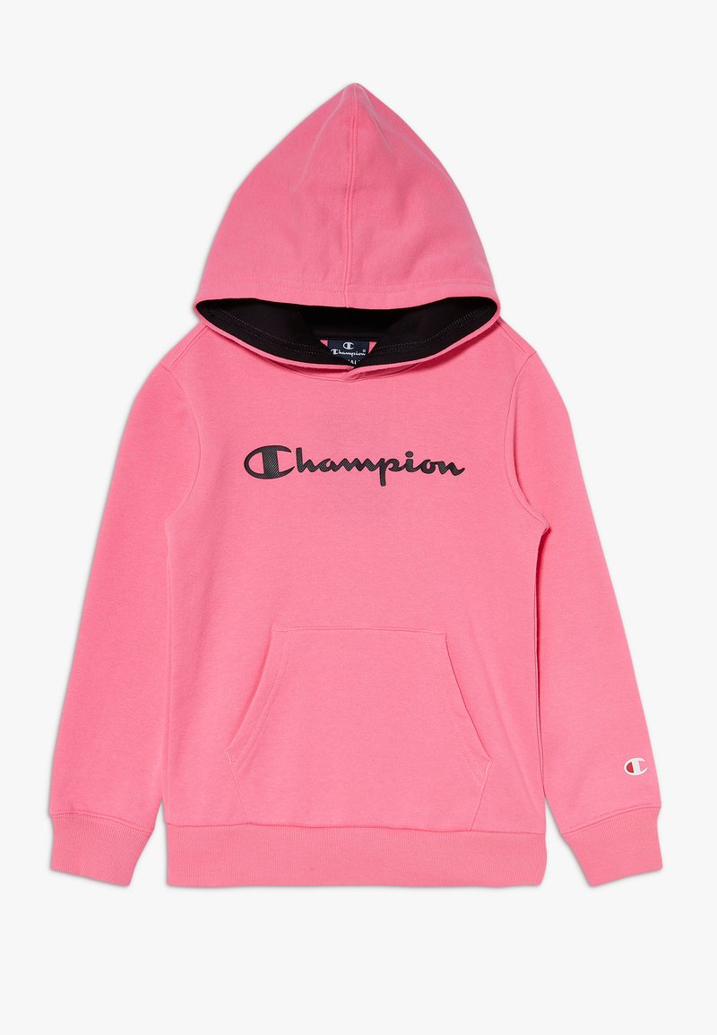 Champion - LEGACY AMERICAN CLASSICS FLUO HOODED - Hoodie - neon pink