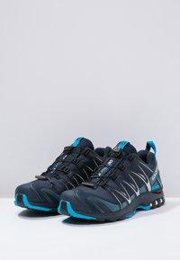 Salomon - XA PRO 3D GTX - Trail running shoes - navy blazer/hawaiian ocean/dawn blue - 2