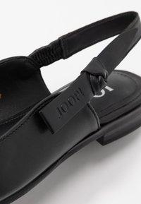 JOOP! - UNICO ISMENE - Slingback ballet pumps - black - 2