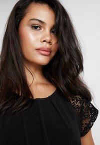 Vero Moda - VMALBERTA DRESS - Jersey dress - black - 3