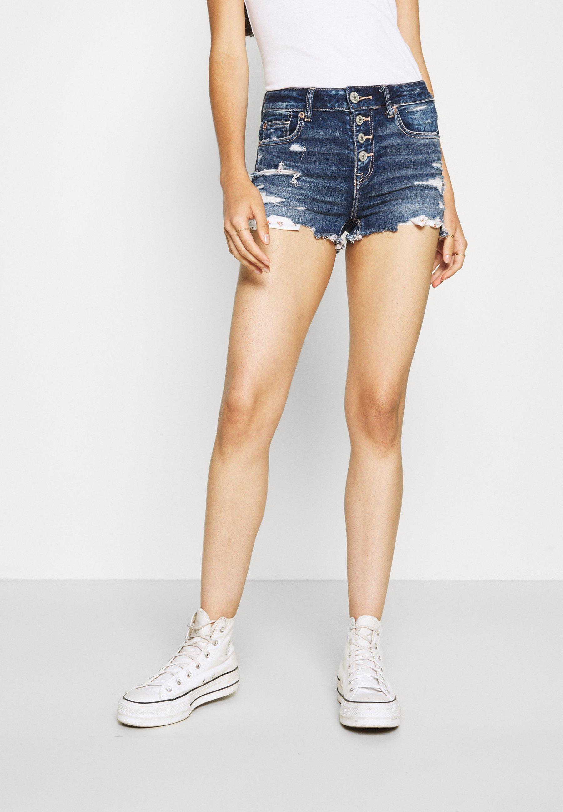 Women SHORTIE - Denim shorts