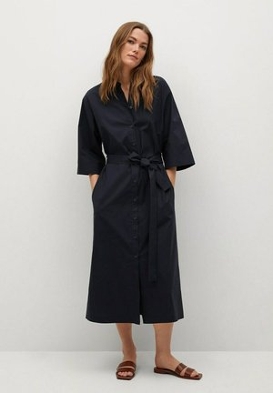 Shirt dress - darkblue