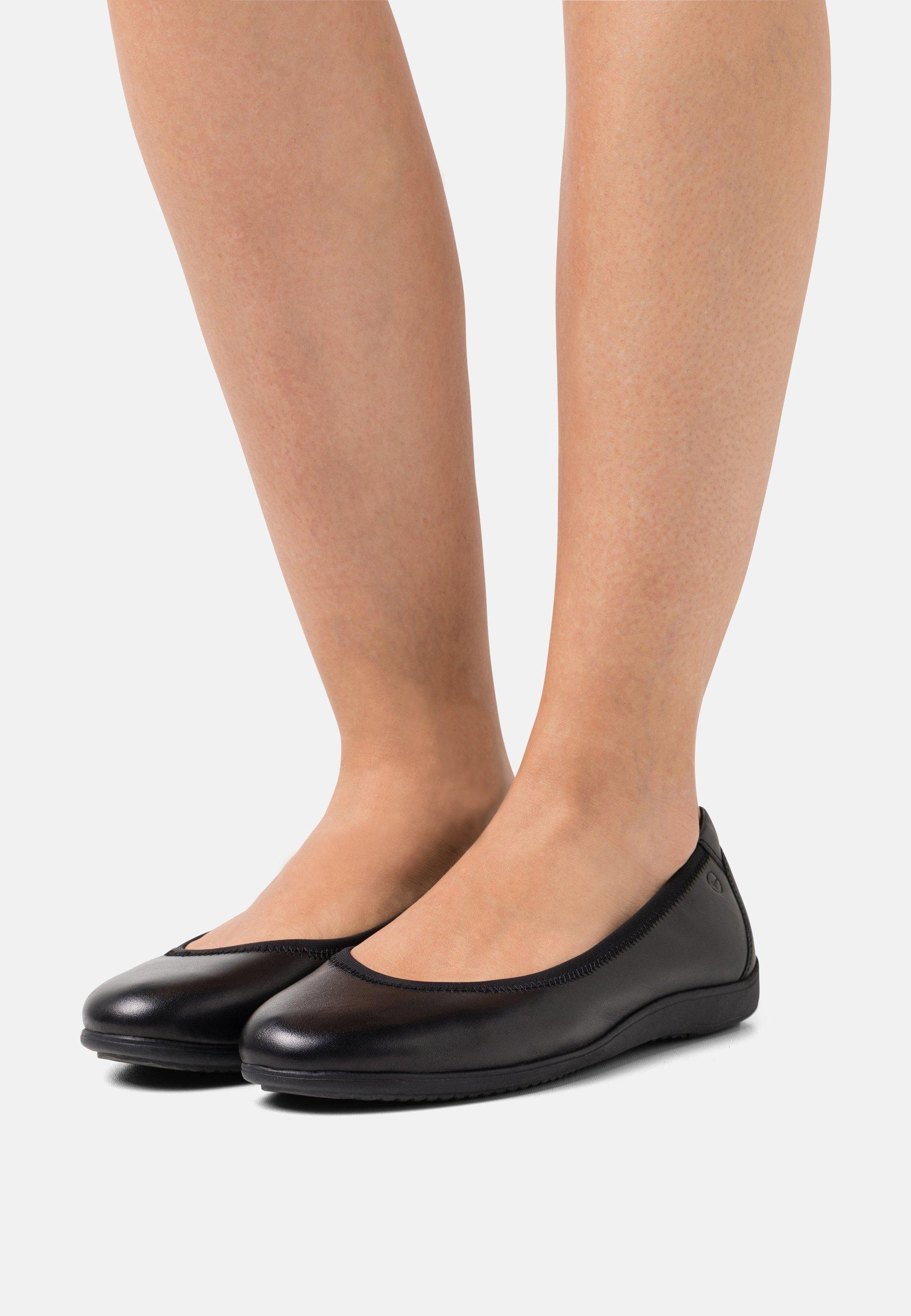 Damen Klassischer  Ballerina - black