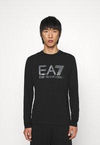 EA7 Emporio Armani - Long sleeved top - black - 0