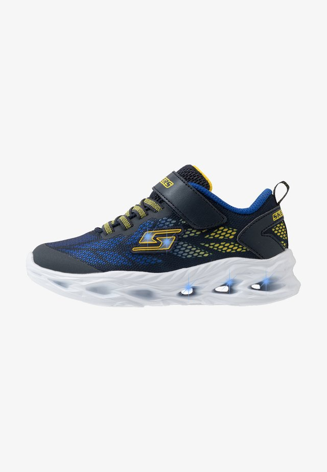 VORTEX FLASH - Trainers - navy/yellow/royal