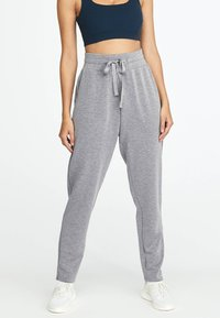 OYSHO - Tracksuit bottoms - grey - 0