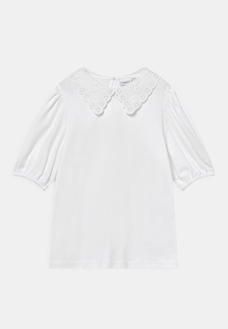 Name it - NKFHEIDIL - Triko spotiskem - bright white