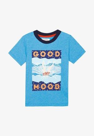 SLOGAN T-SHIR - T-shirt print - dark blue