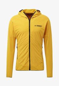 adidas Performance - TERREX SKYCLIMB FLEECE JACKET - Fleece jacket - yellow - 8