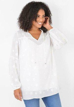 IVORY STAR JACQUARD - Blouse - off white