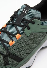 Haglöfs - TRAIL FUSE  - Hiking shoes - dk agave green/true black - 5