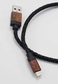 Le Cord - Cavo per ricarica - black/dark wood - 2