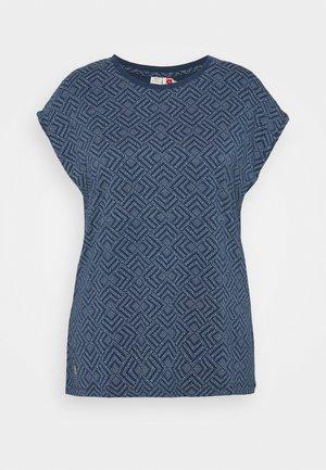 DIONE - Print T-shirt - indigo
