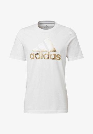 ADIDAS ATHLETICS GRAPHIC T-SHIRT - Print T-shirt - white