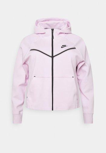 Sweatjakke - pink foam