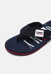 Tommy Jeans - BEACH - T-bar sandals - twilight navy - 5