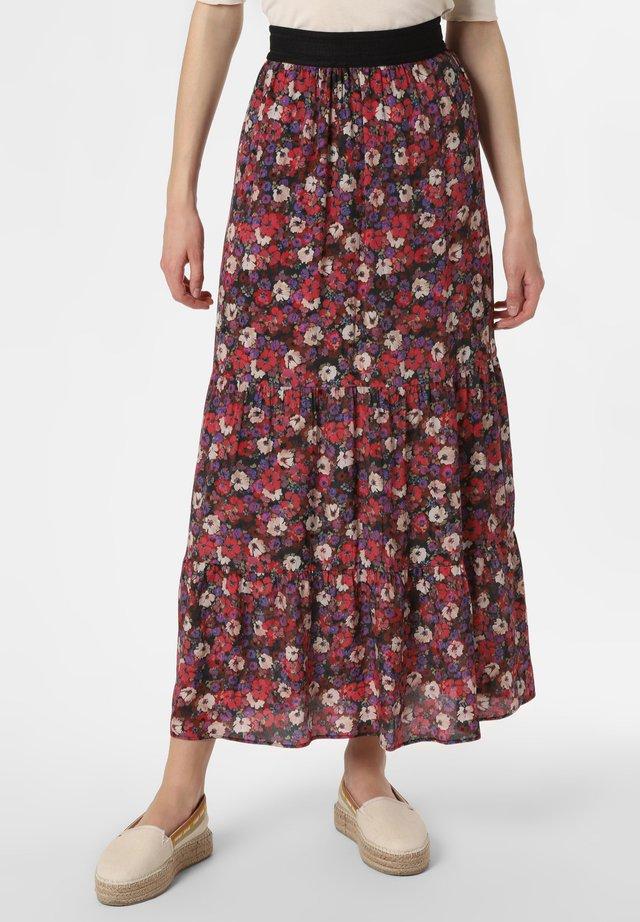 ROCK - A-line skirt - rot lila