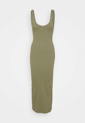 ENALLY DRESS - Trikoomekko - deep lichen green