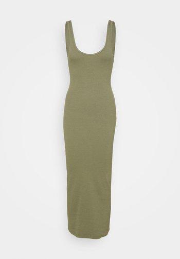 ENALLY DRESS - Jersey dress - deep lichen green