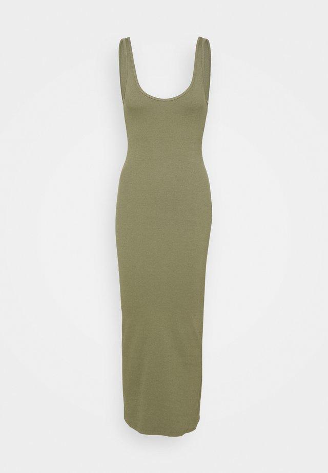 ENALLY DRESS - Sukienka z dżerseju - deep lichen green