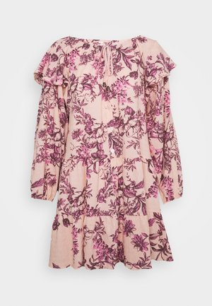 SUNBAKED SWING DRESS - Sukienka letnia - peach combo